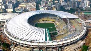 Maracanã undergoes reconstruction