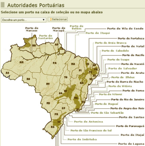 Brazilian port authorities. Source:
