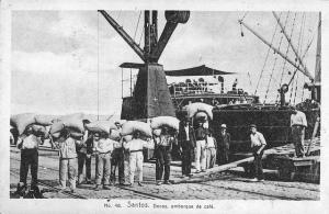 Porto de Santos - Fotografias antigas