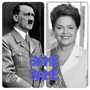 HitlerDilma