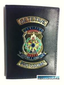Generic detective badge available through police union e-commerce Web site