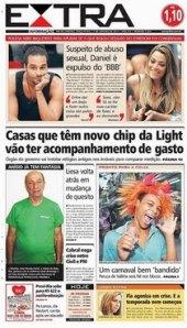 17-01-2012 - Capas do Jornal Extra - Extra Online