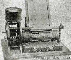 Edison's design for a voting machine