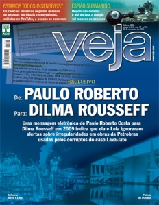 «An e-mail from Paulo Roberto Costa to Dilma Rousseff in 2009 indicates that she and Lula ignored [were unaware of] alerts about irregularities in Petrobras projeccts used by defendants in the Car Wash case»