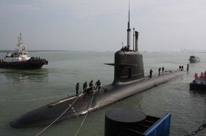 Malaysian Navy's French-Spanish Scorpene Submarine. Brazil plans nuclear version by 2018